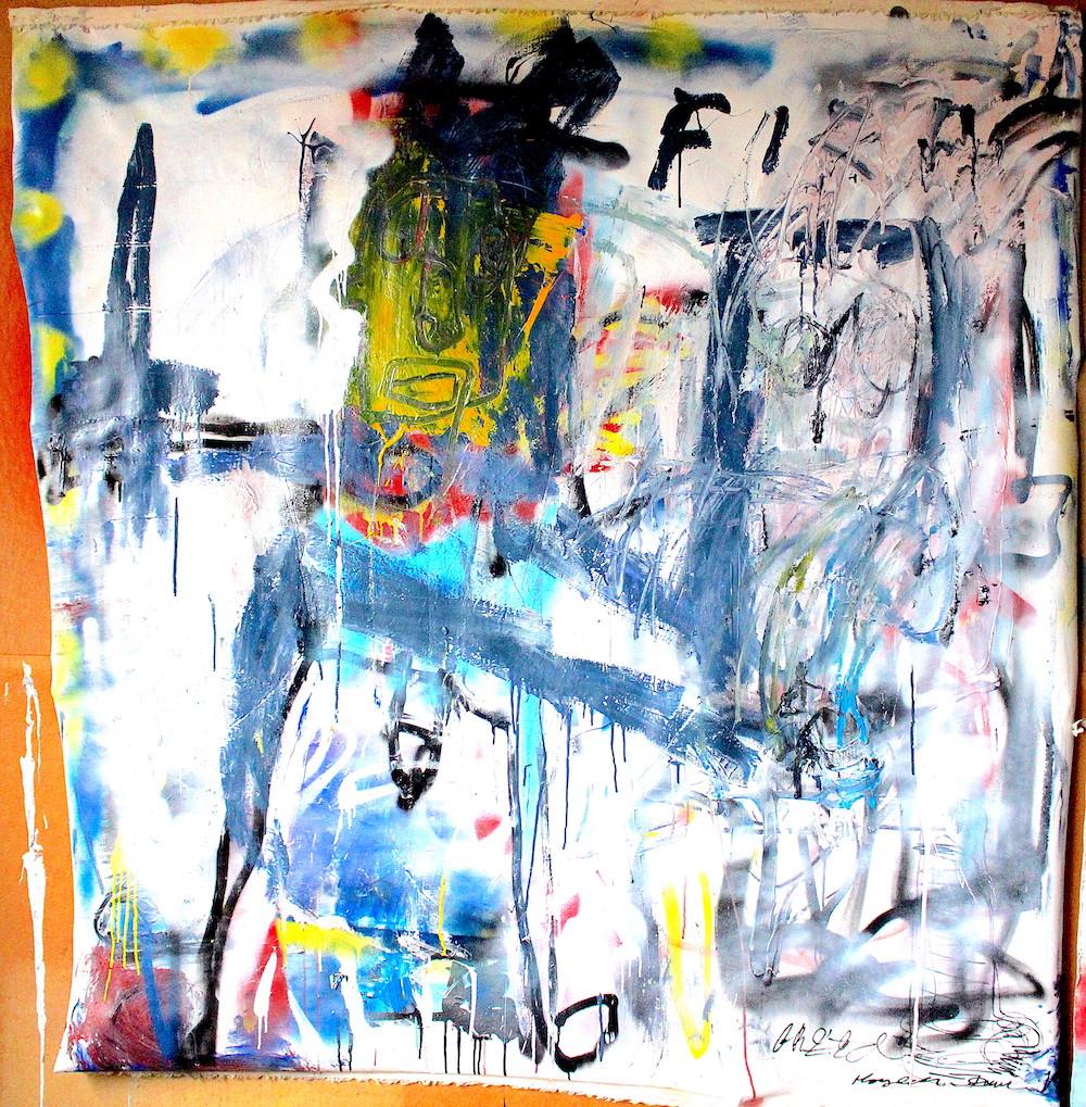 Fireman by James Green Artist and Monsieur Jamin