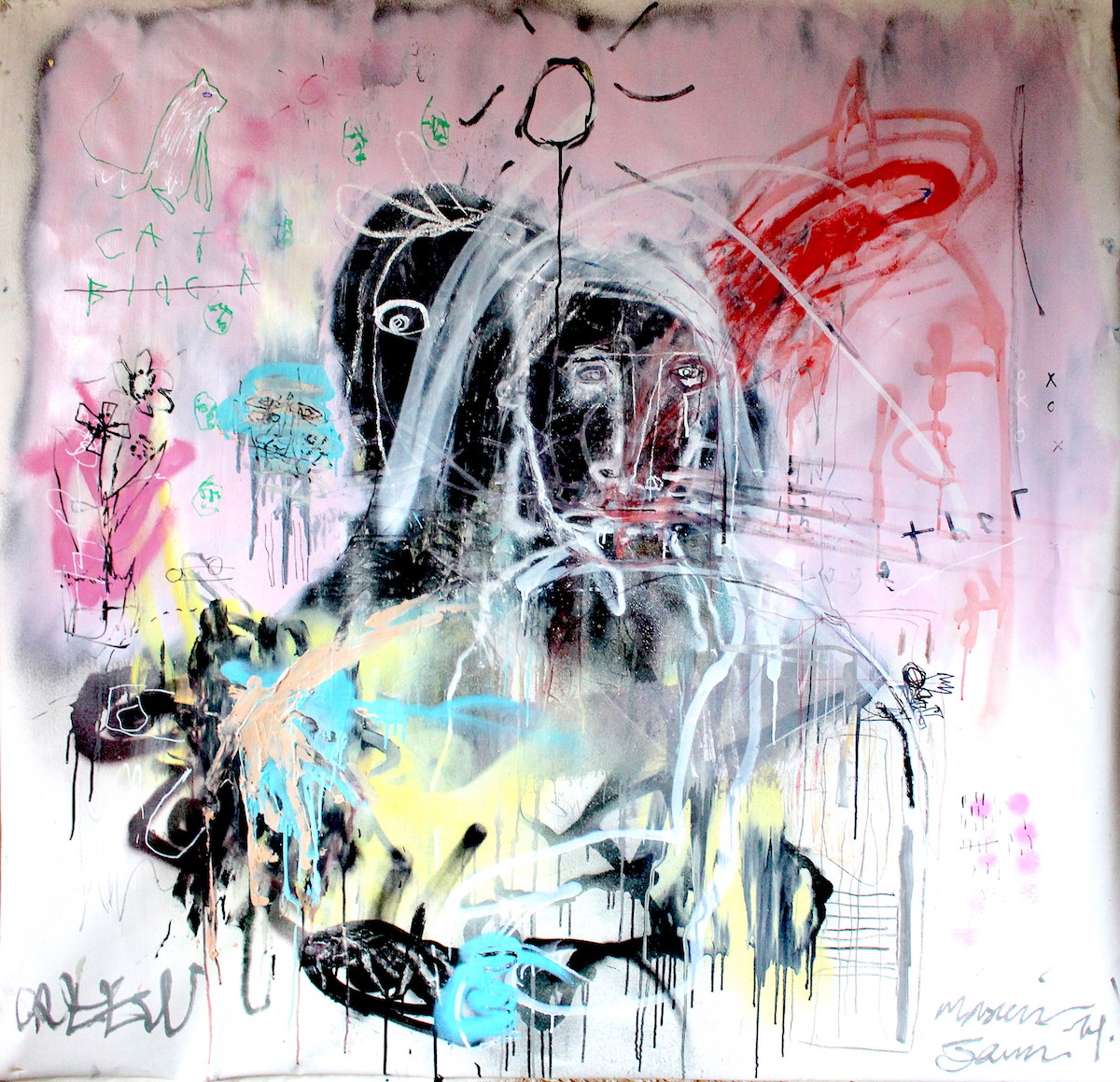 In this together by James Green Artist & Monsieur Jamin