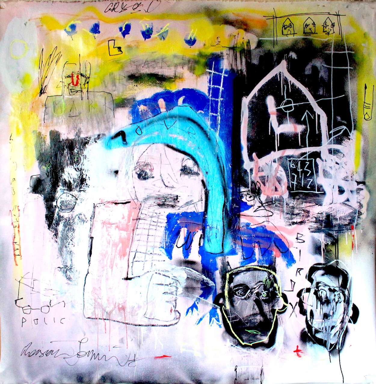 Untitled by James Green Artist and Monsieur Jamin