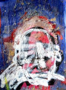 Self portrait by James Green Artist
