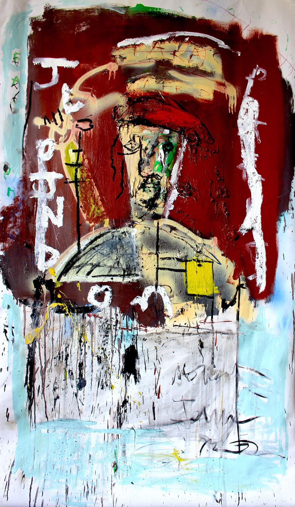 Londoner by James Green Artist & Monsieur Jamin