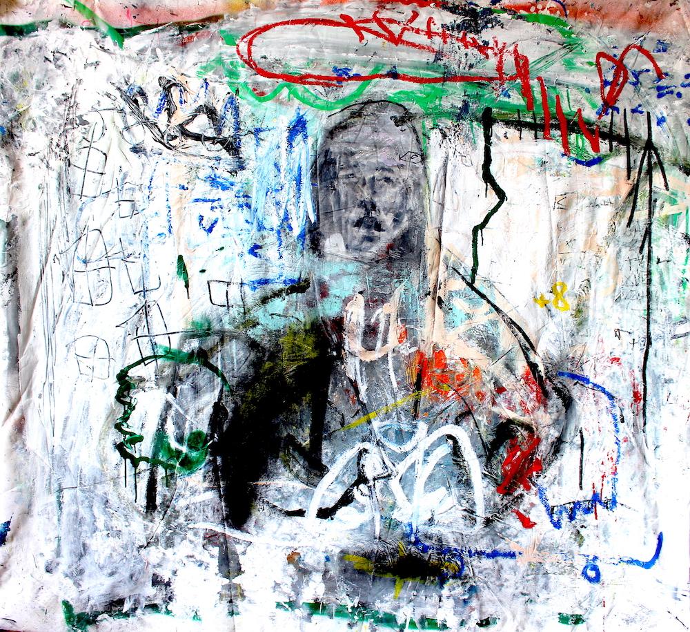 Respect the face by James Green Artist & Monsieur Jamin