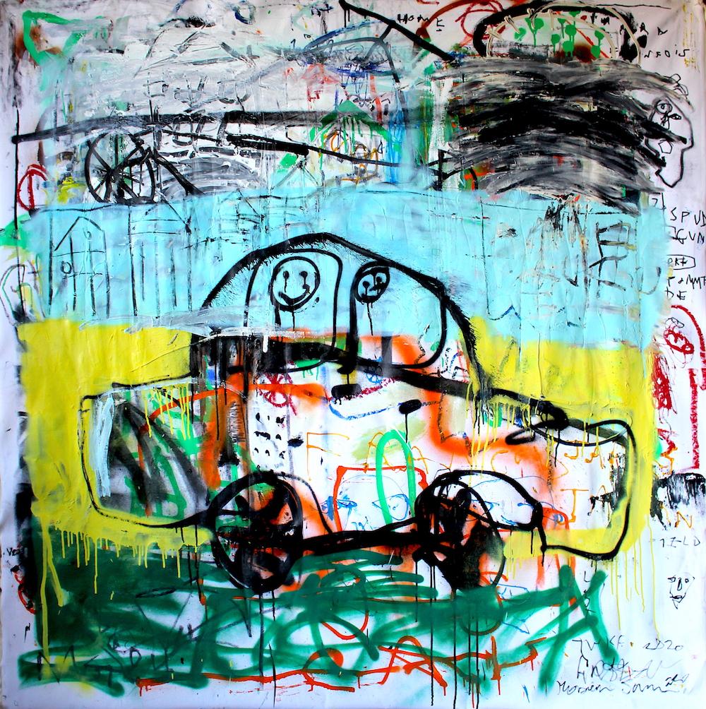 Voiture by James Green Artist & Monsieur Jamin